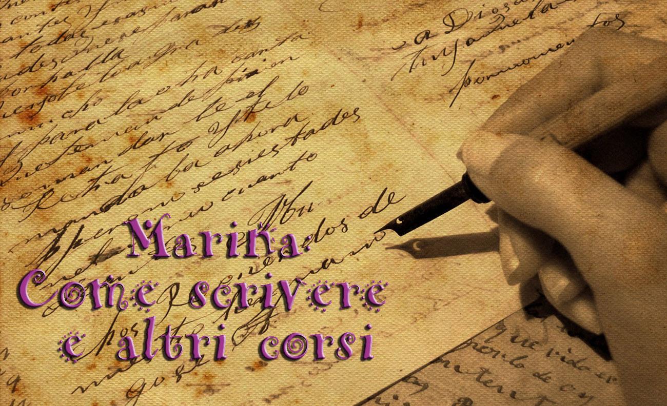 Marina Come scrivere e altri corsi